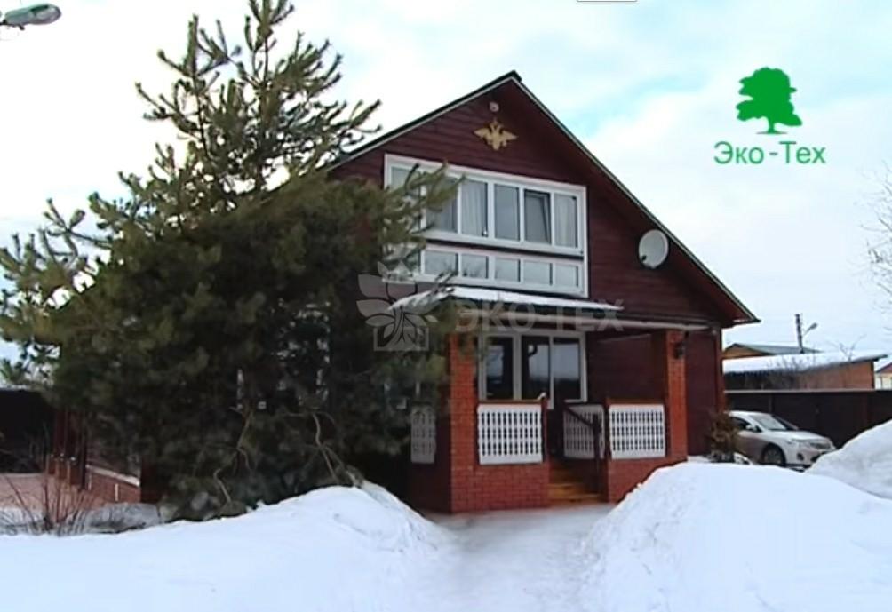 Видео: деревянные дома из бревна под ключ