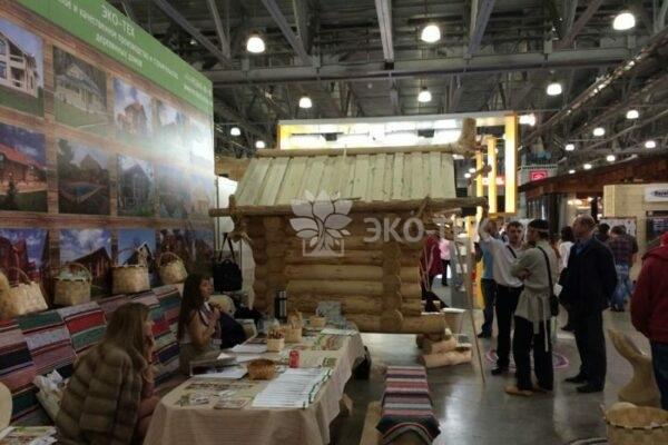 Эко-Тех участие в X Международной выставке «ДЕРЕВЯННЫЙ ДОМ 2014»