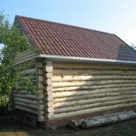 Наружная отделка деревянных бань