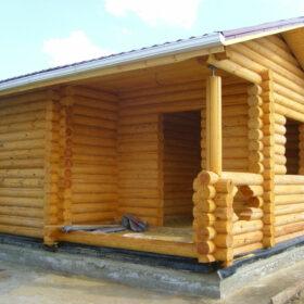 Строительство бань из дерева