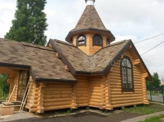 Эко-тех Завершение строительства и отделки деревянной часовни Донской иконы Божьей Матери