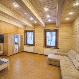 Варианты устройства второго этажа деревянного дома