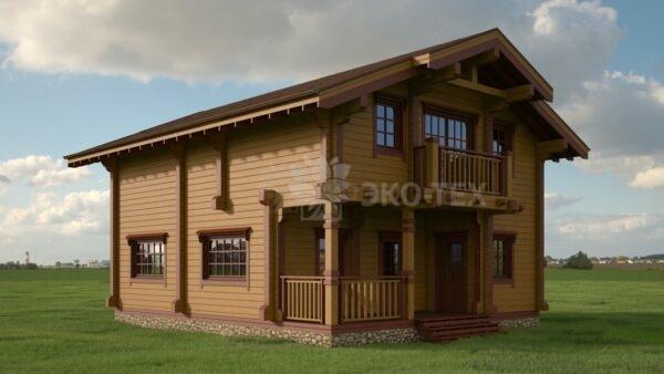 Проект дома Астория клееный брус