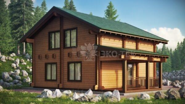 Проект дома Эсквайр Мини клееный брус