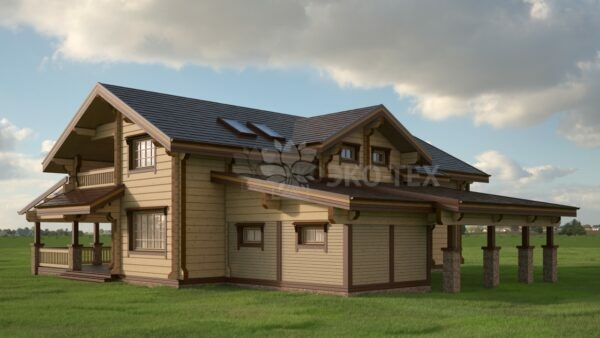 Проект дома Гранд клееный брус