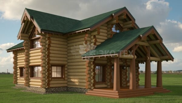 Проект дома Котлас оцилиндрованное