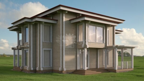 Проект дома Новый клееный брус