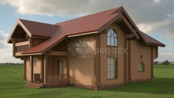 Проект дома Перфекшн клееный брус
