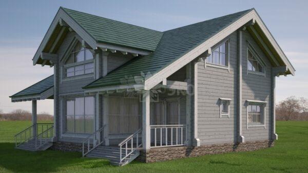 Проект дома Победа клееный брус