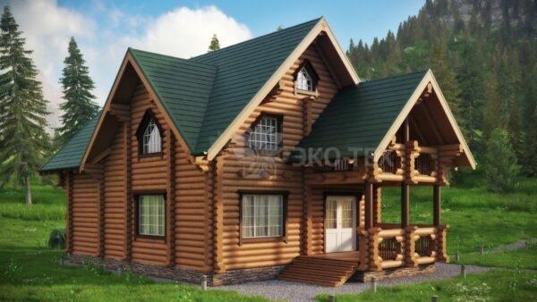Проект дома Святогор оцилиндрованное