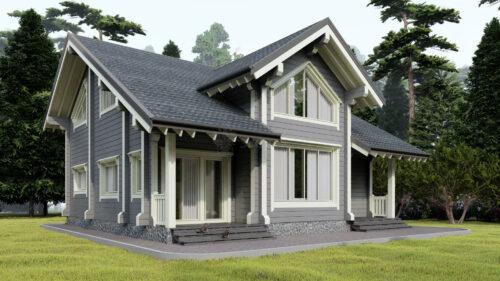 Проект дома Вена клееный брус
