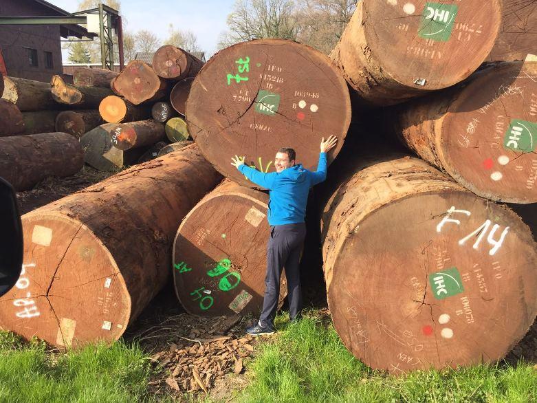 Компания Эко-Тех представляет: Строительство деревянных домов из бревен большого диаметра