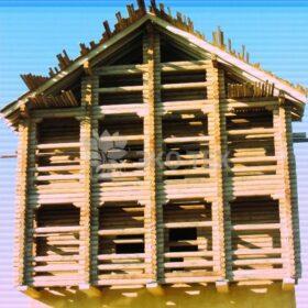 Строительство деревянного второго этажа каменному дому