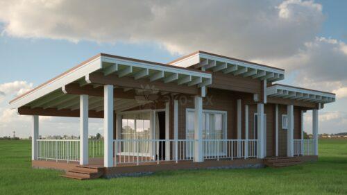 Проект дома Эгле клееный брус