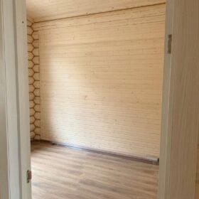 Выставка деревянных домов Эко-Тех — МКАД 65 км. фото ТЦ «Синдика»