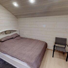 """Фото дом из клееного бруса по проекту """"Бунырево"""""""