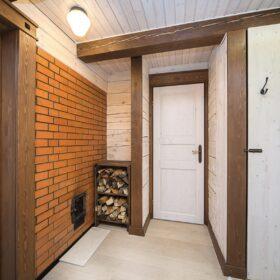 Фото интерьеры деревянных домов