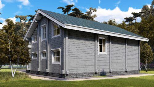 Проект дома Крым клееный брус
