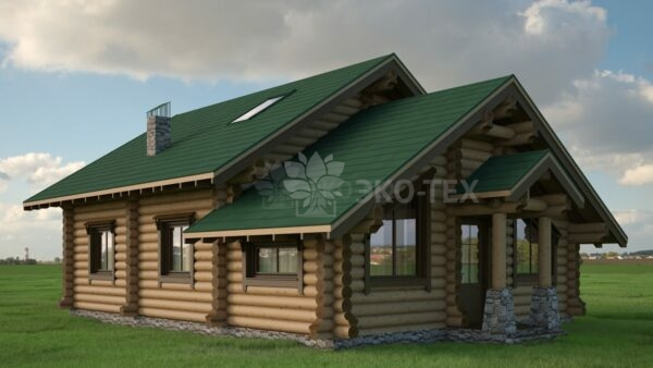 Проект дома Петро оцилиндрованное