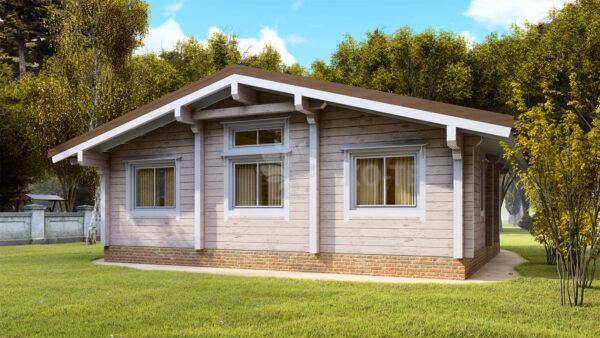 Проект дома Суздаль клееный брус