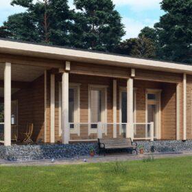 Проект дома Вельс клееный брус