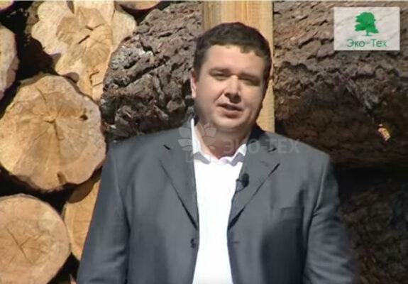 Видео: производство материалов для строительства деревянного дом