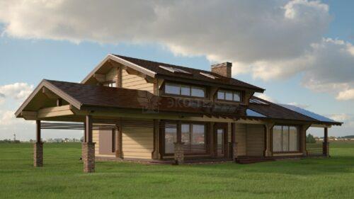 Проект дома Виста клееный брус