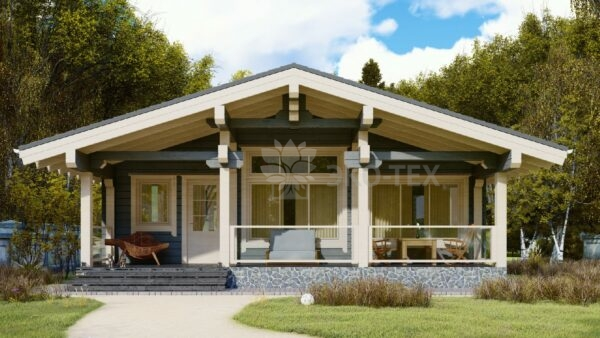 Проект дома Зеленоград клееный брус