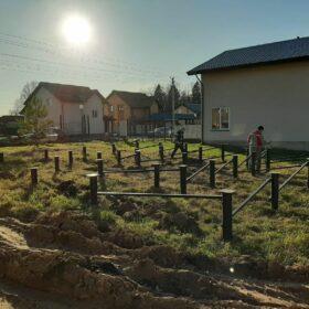 """Эко-тех Этапы строительства дома """"Пушкино"""""""