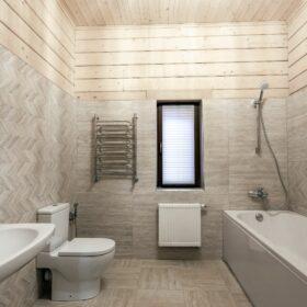 Эко-тех индивидуальный проект дома и бани