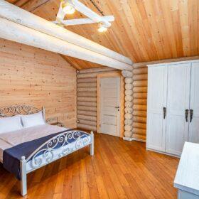 Эко-тех дом,оцилиндрованное бревно, строительство и отделка фото
