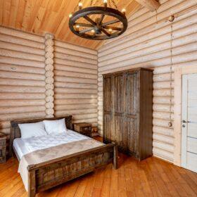 Эко-тех дом Талдом ,оцилиндрованное бревно, строительство и отделка фото