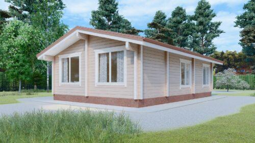 Проект дома Подольск клееный брус