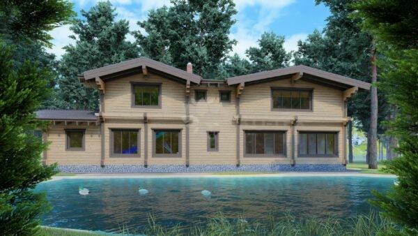 Проект бани Римские Бани